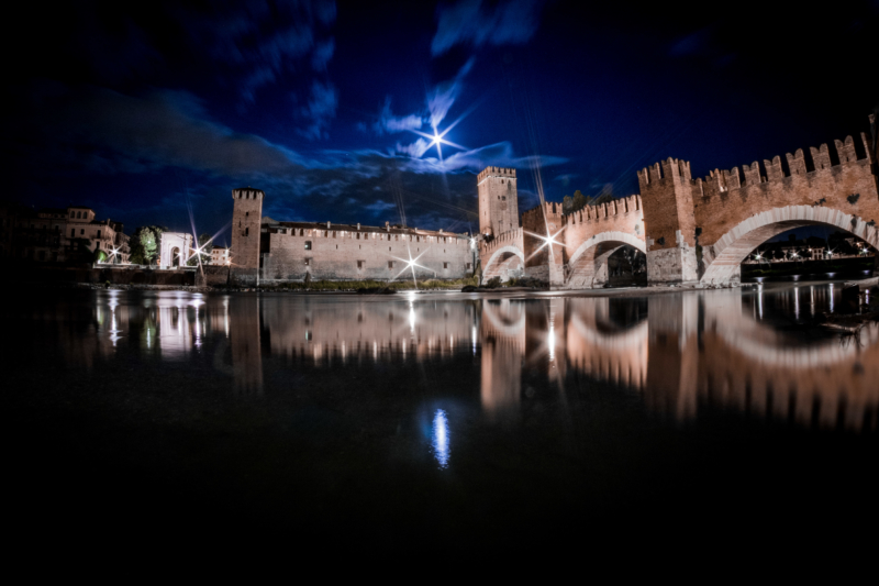 Castelvecchio by night, Verona