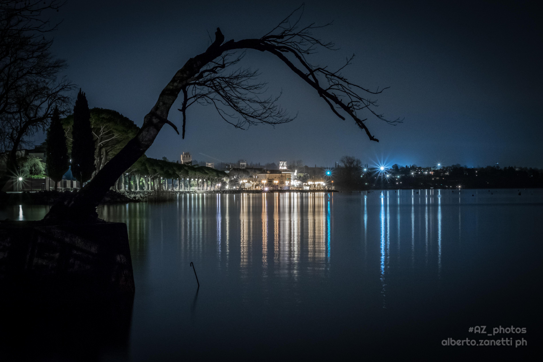 Lazise by night, Lago di Garda